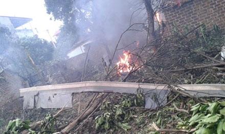 Vụ tai nạn máy bay làm 18 quân nhân hy sinh, 3 quân nhân khác bị thương nặng.