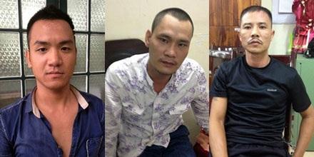 Chân dung 3 sát thủ trực tiếp ra tay sát hại nạn nhân Kiều Hồng Thành.