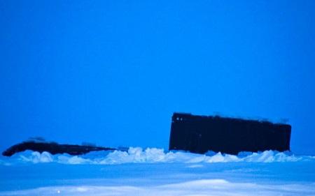 Hình ảnh được cho là của tàu ngầm Nga mà các nhà khoa học Nauy ghi lại