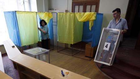Cử tri Ukraine sẽ đi bầu cử quốc hội trong ngày 26/10