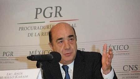 Bộ trưởng tư pháp Jesus Murillo Karam