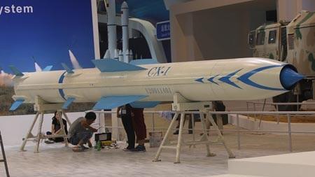 Tên lửa CX-1 của Trung Quốc vừa được trình làng.