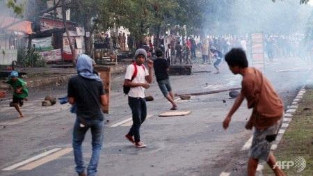 Indonesia đã chứng kiến nhiều ngày biểu tình phản đối xăng tăng giá