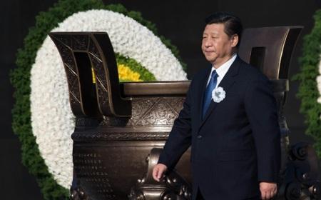 Chủ tịch Trung Quốc Tập Cận Bình tại lễ tưởng niệm vụ thảm sát Nam Kinh