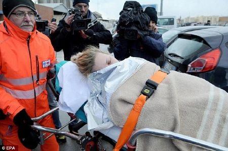 Nhiều hành khách trên phà bị thương