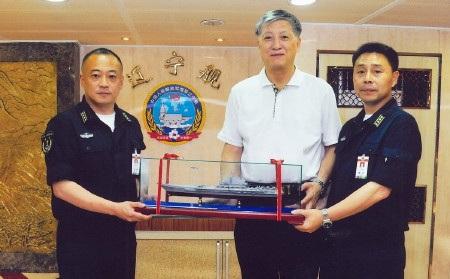 Xu Zengping đã bỏ ra khoảng 120 triệu USD để đưa tàu sân bay về Trung Quốc (Ảnh: