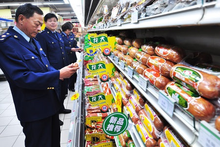 Mất an toàn thực phẩm vẫn là vấn nạn tại Trung Quốc (Ảnh: