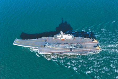 Tàu sân bay Liêu Ninh của Trung Quốc (Ảnh: