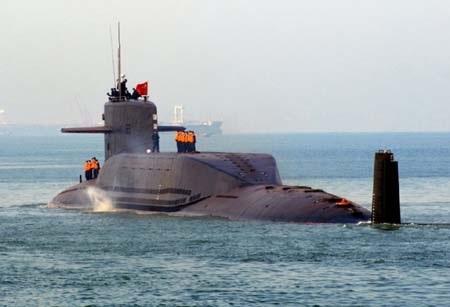 Tàu ngầm Trung Quốc từng có chuyến thăm cảng tại Colombo hồi năm ngoái (Ảnh: Internet)