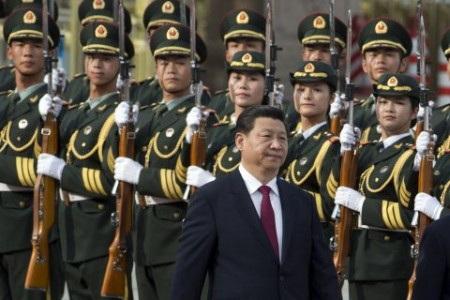 Chủ tịch Trung Quốc Tập Cận Bình tiếp tục chủ trương đầu tư lớn cho quân đội (Ảnh: