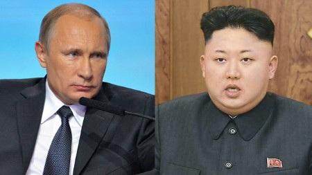 Tổng thống Nga Vladimir Putin (trái) sẽ gặp ông Kim Jong-un (Ảnh: Internet)
