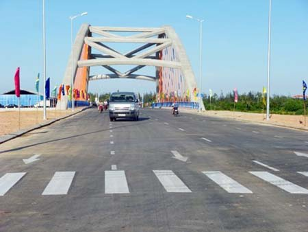 Cầu Cổ Cò tại Đà Nẵng là một trong những dự án có sự tham gia của