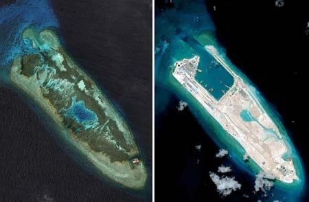 """Philippines tố Trung Quốc tàn phá Biển Đông """"không thể khắc phục"""""""