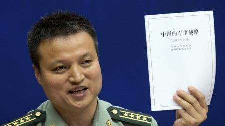 Sách trắng quốc phòng 2015 của Trung Quốc lộ dõ ý đồ bành trướng sức mạnh quân sự trên biển (Ảnh: