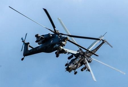 Xem clip vũ khí Nga phô diễn hỏa lực