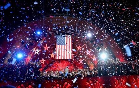 Rất nhiều sự kiện mừng Ngày độc lập 4/7 đã diễn ra tưng bừng khắp nước Mỹ (Ảnh: NYDaily)