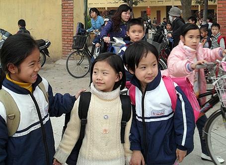 Ở xã Sơn Đồng (Hoài Đức, Hà Nội) nhiều trường hợp con gái không mang họ cha. (Ảnh minh họa)