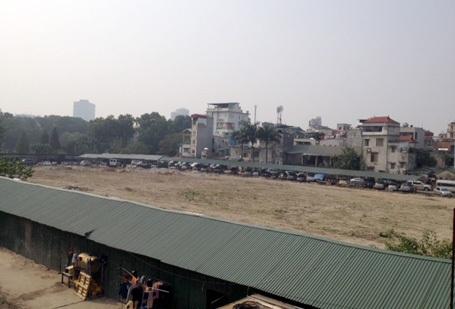 Bãi đất rộng hơn 10.000m2 của dự án khách sạn 5 sao trước đây