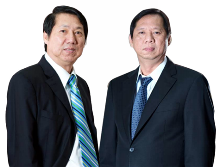 Hai anh em doanh nhân Trần Kim Thành và Trần Lệ Nguyên
