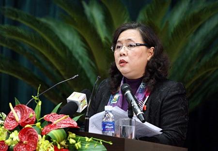 Bà Nguyễn Thị Bích Ngọc được giới thiệu làm Chủ tịch HĐND TP Hà Nội