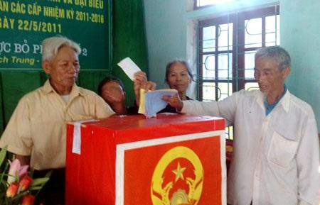 Kết quả cuộc trưng cầu ý dân có giá trị quyết định với vấn đề được đưa ra trưng cầu (ảnh minh họa)