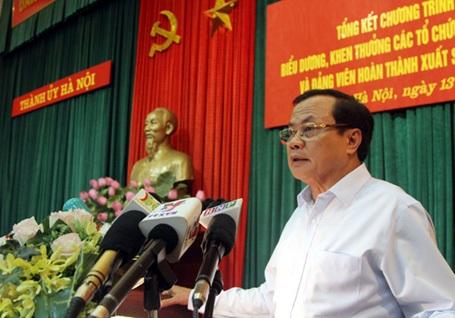 Ông Phạm Quang Nghị cho biết, lãnh đạo thành phố không ngại nghe phê bình