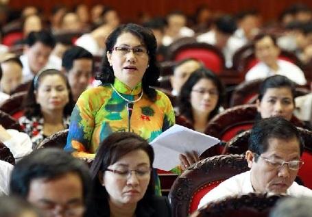 Đại biểu Đặng Thị Kim Chi (Phú Yên) lo ngại hoạt động giám sát không hiệu quả (Ảnh: Ngọc Châu)