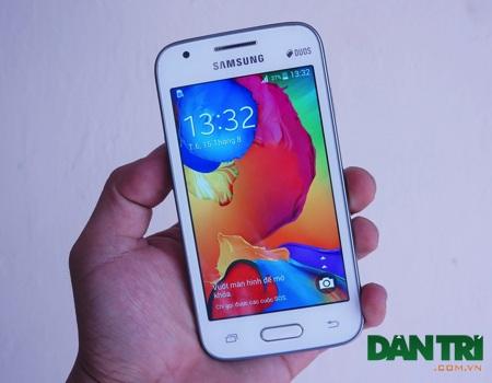 Trên tay Galaxy V đầu tiên tại Việt Nam