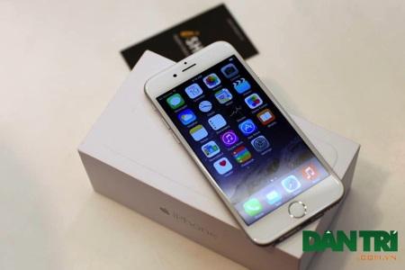 iPhone 6 với màn hình 4,7 inch.