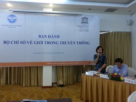 Bà Nguyễn Thúy Lan, Ủy viên Ban vì sự tiến bộ của phụ nữ, Đài tiếng nói Việt Nam