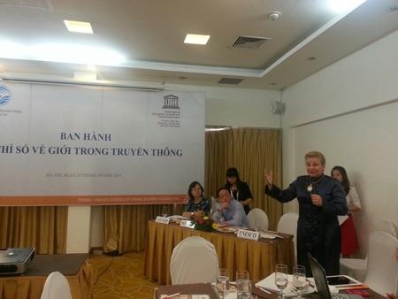 Ban hành Bộ chỉ số về Giới trong truyền thông Việt Nam