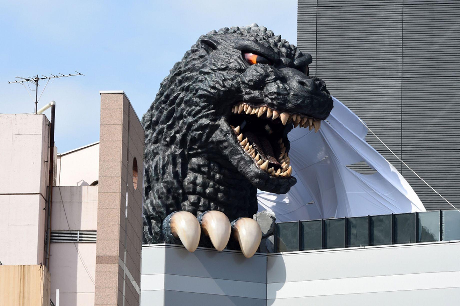 Quái thú Godzilla trở thành đại sứ du lịch Tokyo | Báo Dân trí