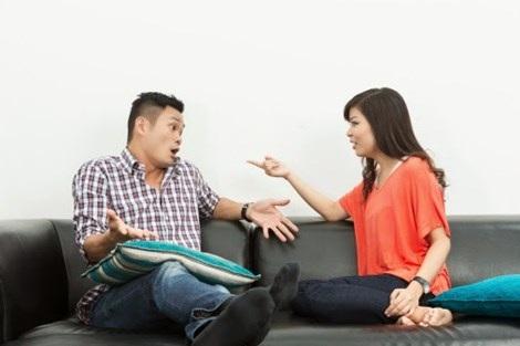 9 quy tắc khi tranh cãi với vợ