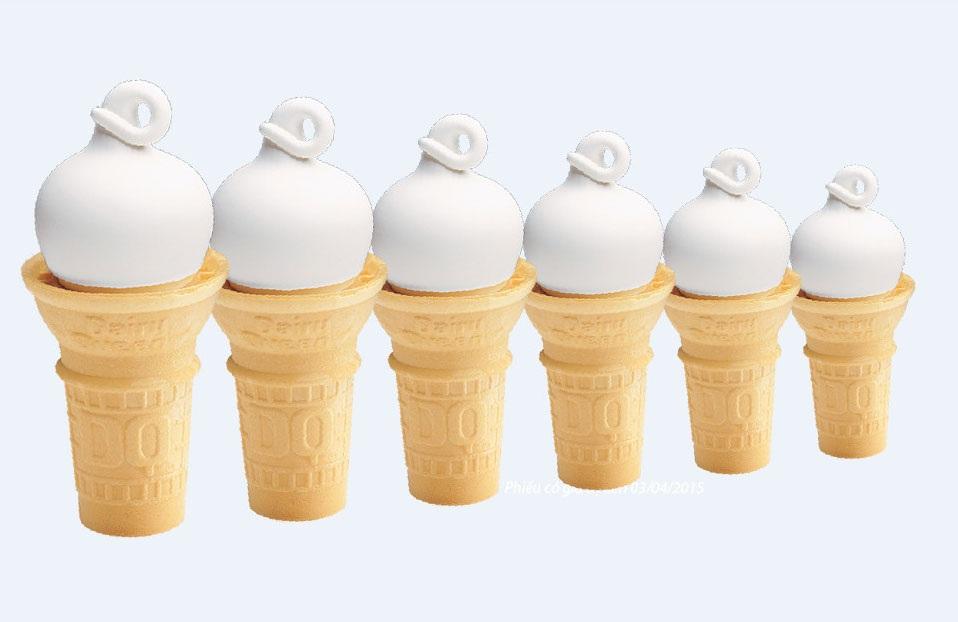 """Dairy Queen - Kem tươi """"đúng chuẩn"""" từ Mỹ"""