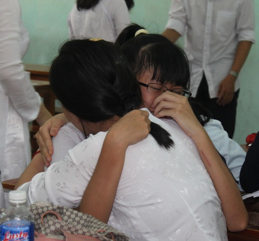 Học trò Trường Quốc Học Quy Nhơn (TP Quy Nhơn, Bình Định)