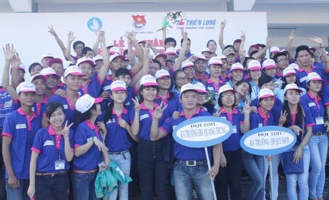 Gần 700 tình nguyện viên tiếp sức mùa thi sẵn sàng cùng sĩ tử