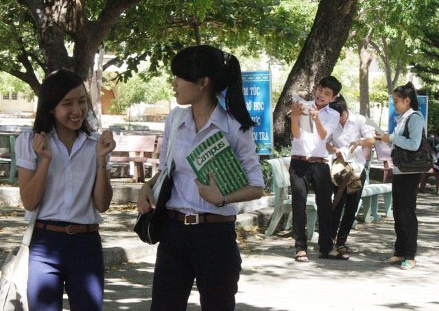 Nhiều thí sinh tại Bình Định cho rằng đề Ngữ văn khá dễ.