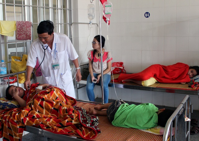 Số ca nhiễm sốt xuất huyết tại Phú Yên tăng mạnh