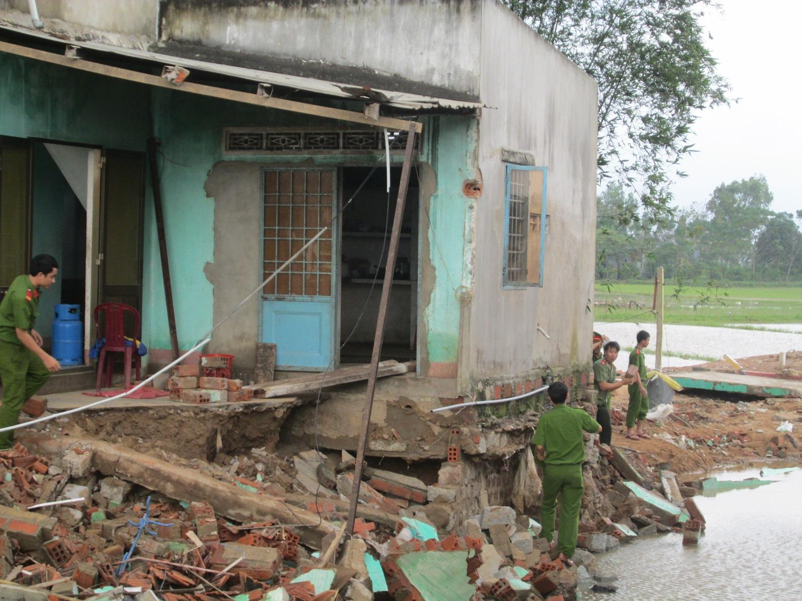 18 người chết do lũ vừa qua tại Bình Định