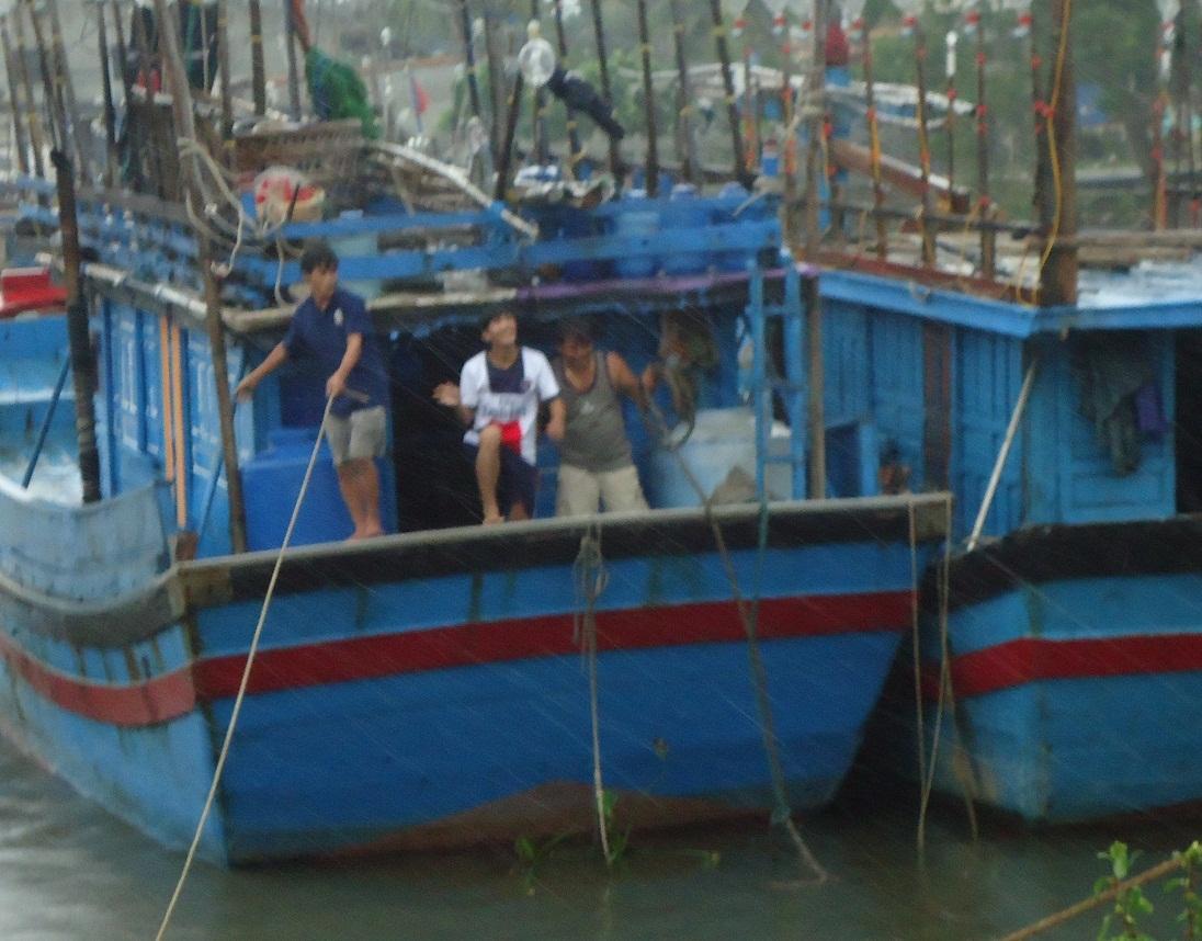Bình Định còn hơn 500 ngư dân đang ở vùng biển nguy hiểm