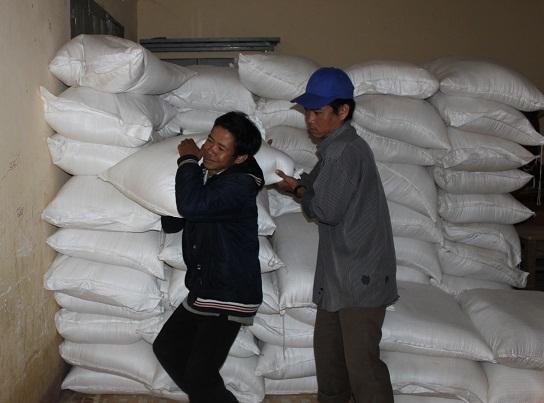 25 tấn gạo hỗ trợ học sinh vùng cao xã Vinh Kim (huyện Vĩnh Thạnh, Bình Định) đón Tết.