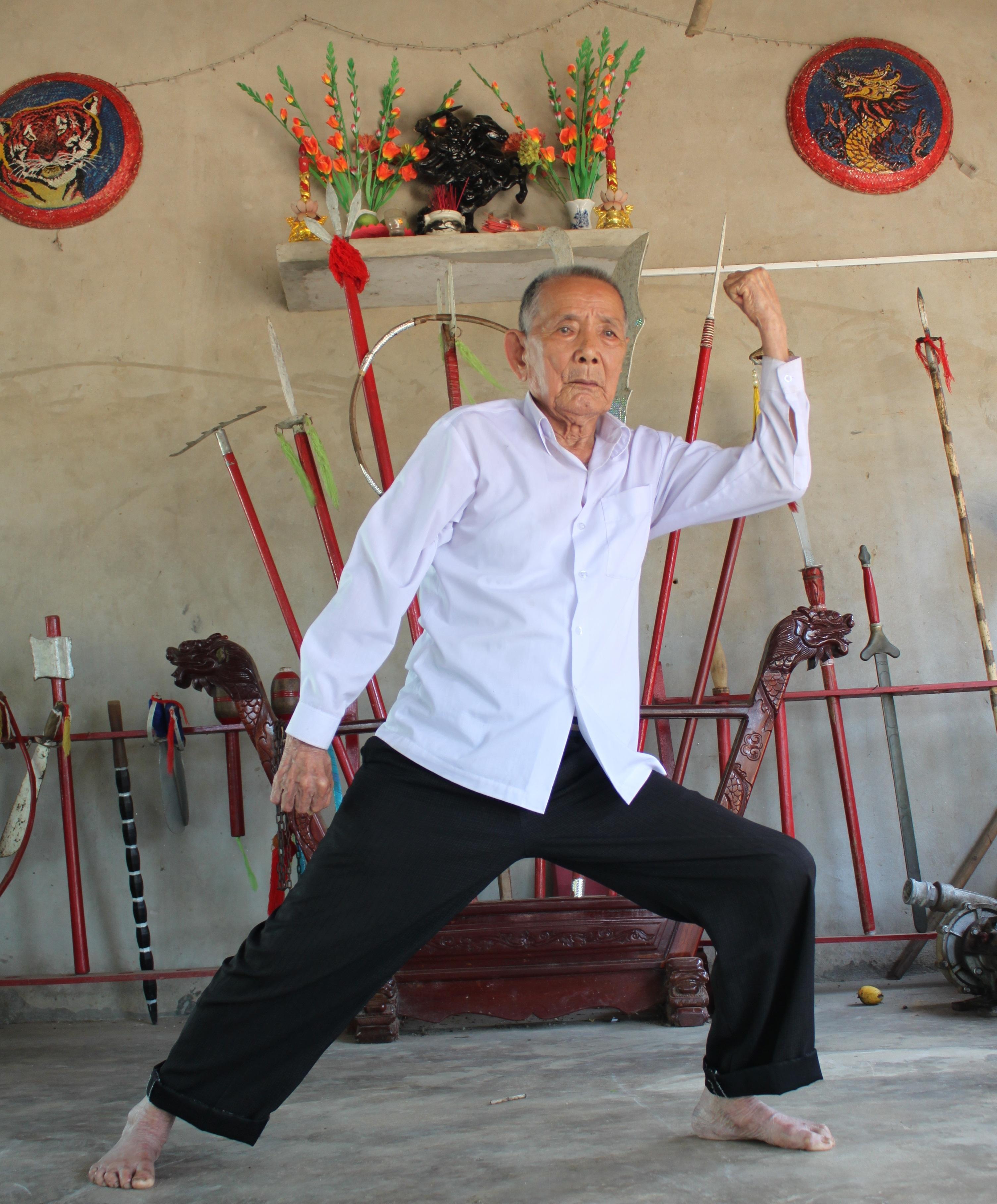 Võ sư Phan Thọ huyện thoại võ thuật Bình Định