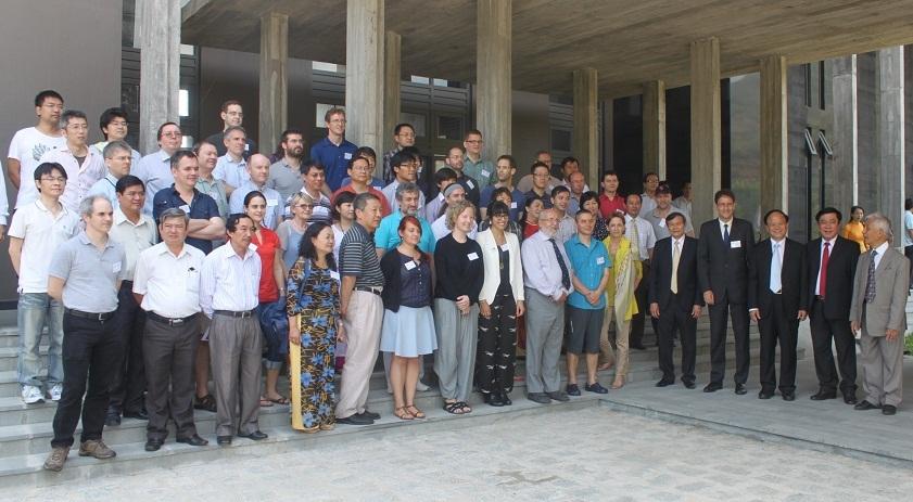 Hội nghị thu hút trên 70 nhà khoa học đến từ 25 quốc gia trên thế giới tham dự,