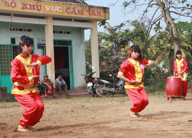 Võ cổ truyền Bình Định đang được thế hệ trẻ nối nghiệp ông cha