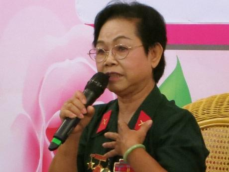 Chim sắt Nguyễn Thị Thu Nguyệt ôn lại thời tuổi trẻ hào hùng đầy máu lửa