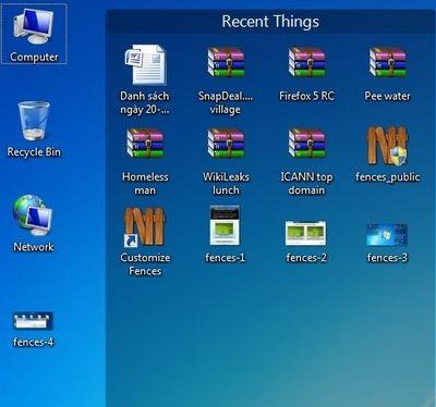 Thủ thuật để có một desktop ngăn nắp - 5