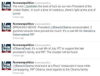 Mật vụ điều tra vụ đánh cắp tài khoản Twitter của Fox News - 1