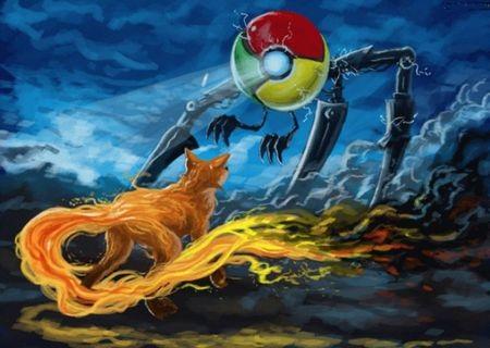 """Trình duyệt Chrome bất ngờ bị Firefox """"vượt mặt"""""""