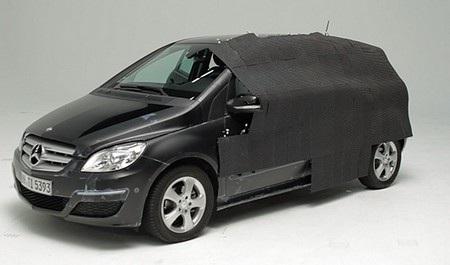 """Mercedes gây ấn tượng với chiếc xe """"vô hình"""""""