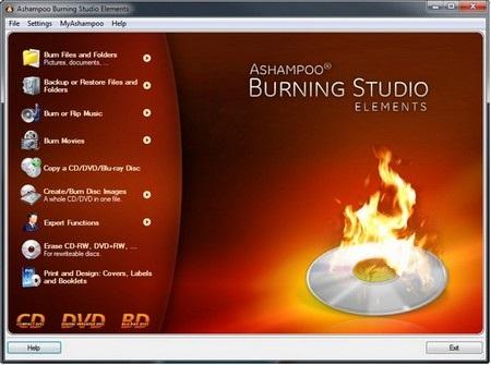 Ghi đĩa đơn giản và nhanh chóng với phần mềm chuyên nghiệp